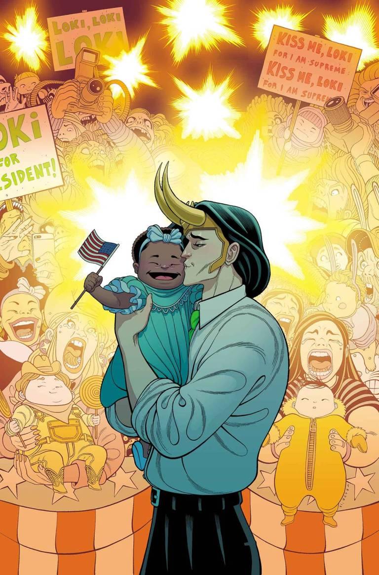 Vote Loki #3 (Tradd Moore Regular Cover)