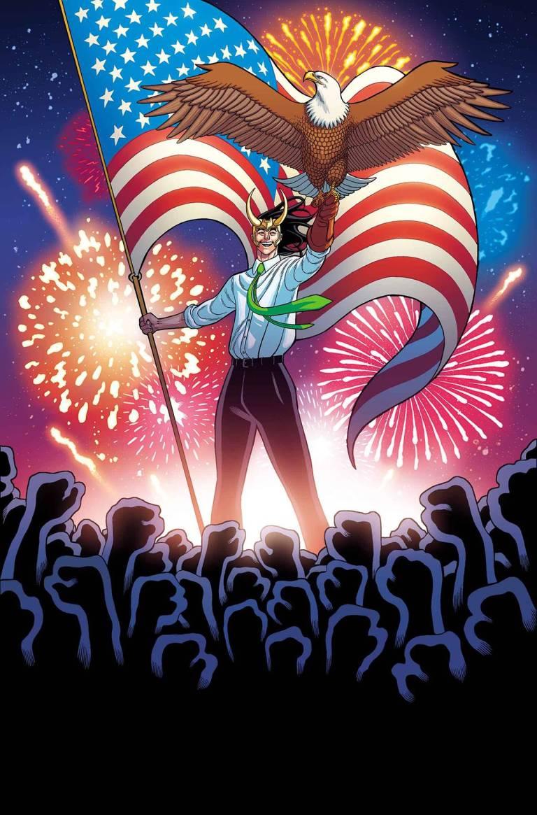 Vote Loki #4 (Tradd Moore Regular Cover)