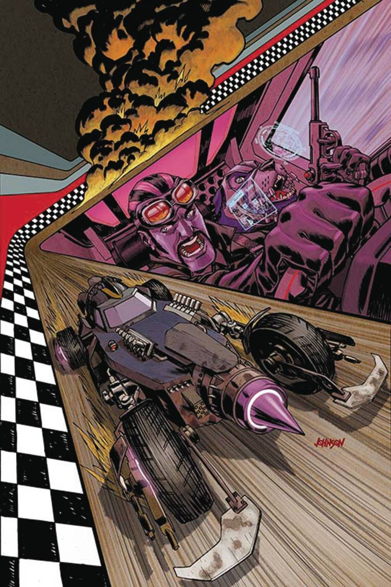 Wacky Raceland #1 (Cover B Dave Johnson Dick Dastardly Variant)