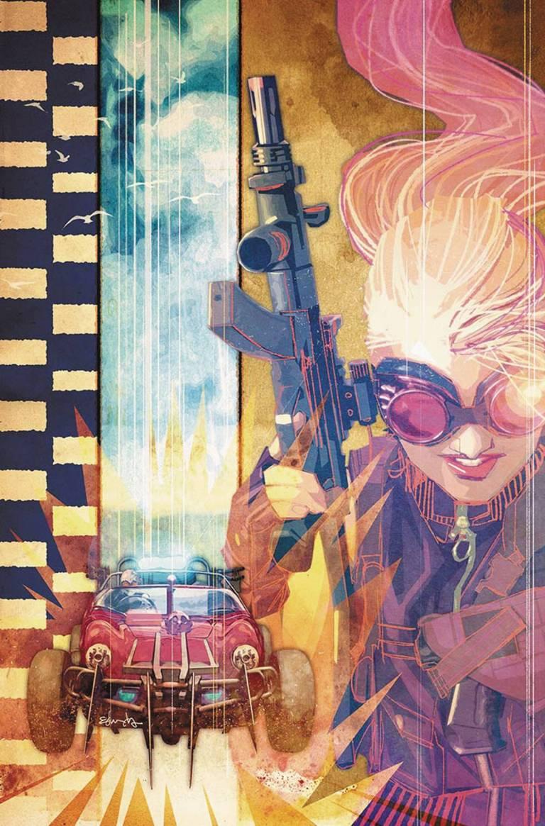Wacky Raceland #1 (Cover D Tommy Lee Edwards Penelope Pitstop Variant)