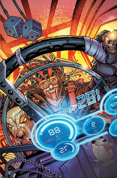 Wacky Raceland #3 (Cover B Jonboy Meyers)