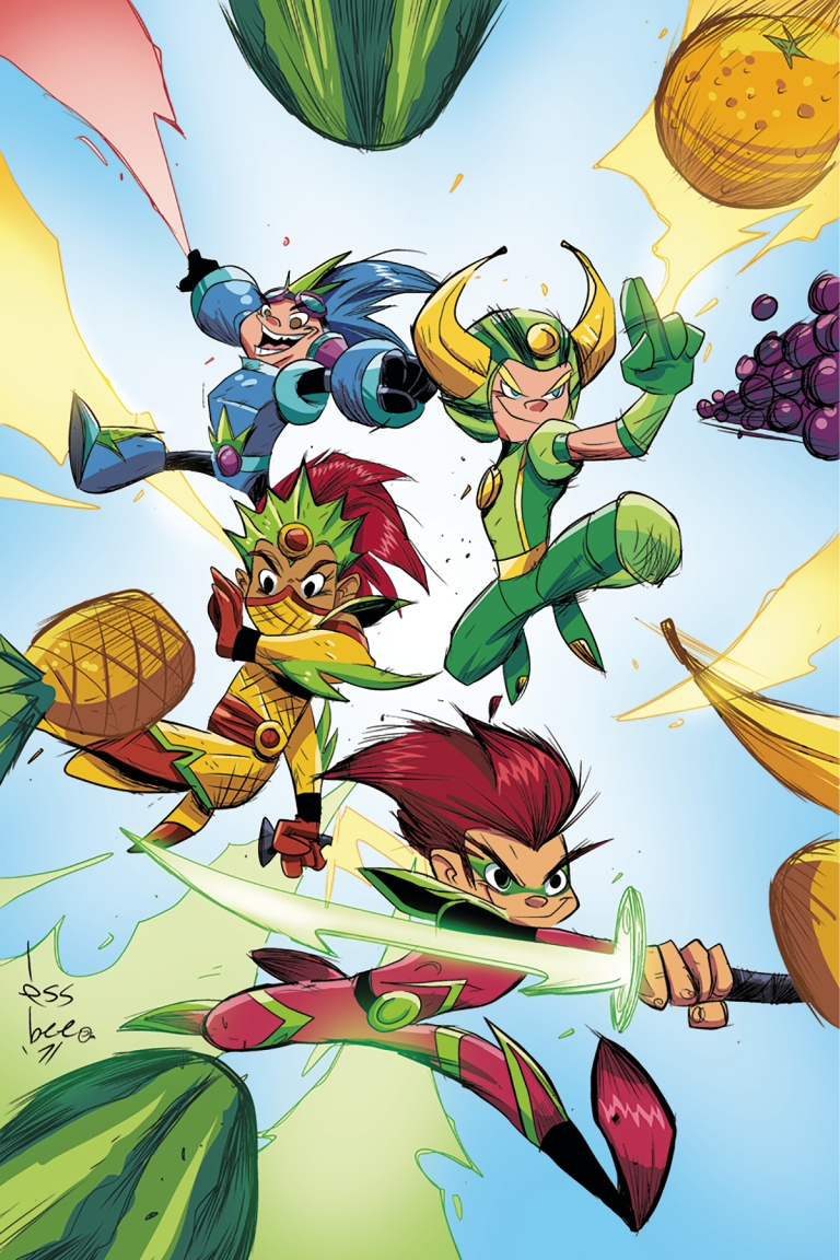 Fruit Ninja #1 (Cover D Scott Brown Virgin Variant)