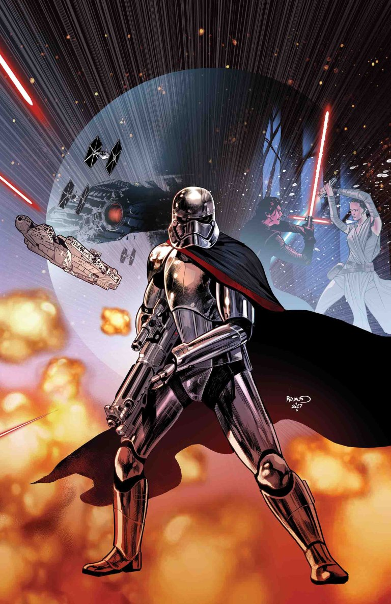 Journey To Star Wars The Last Jedi Captain Phasma #1 (Cover A Paul Renaud)