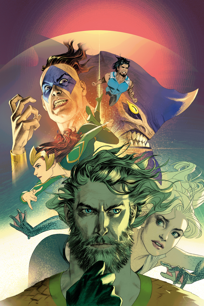 Aquaman #29 (Cover B Joshua Middleton)