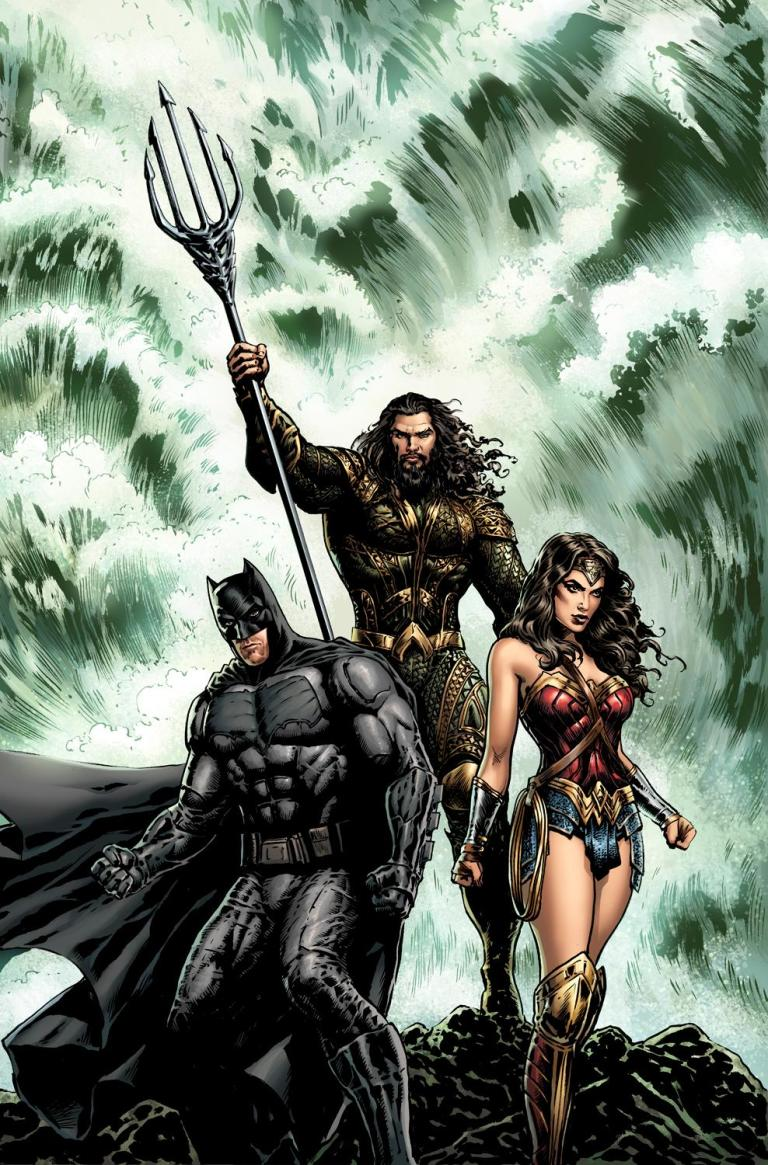Aquaman #30 (Cover B Liam Sharp Justice League Variant)