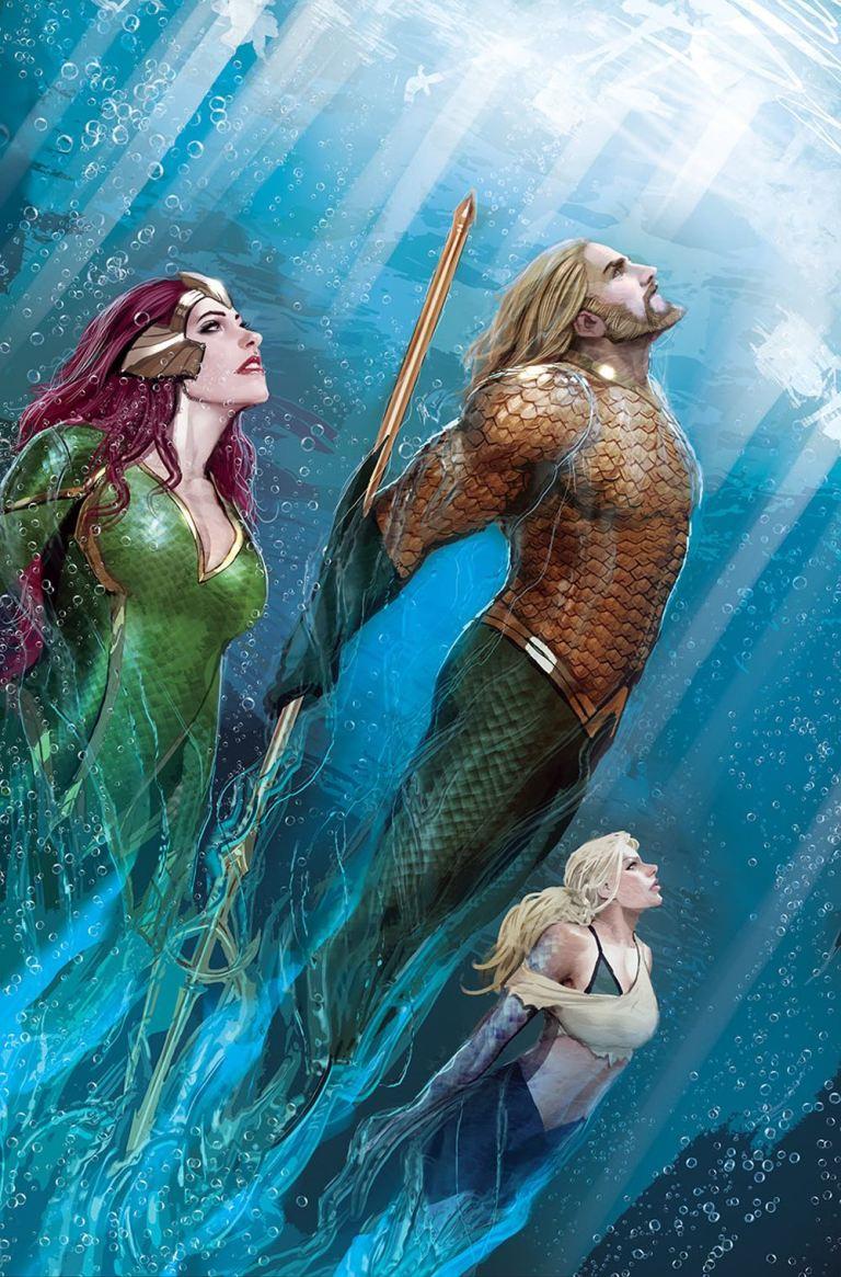 Aquaman #31 (Cover A Stjepan Sejic)