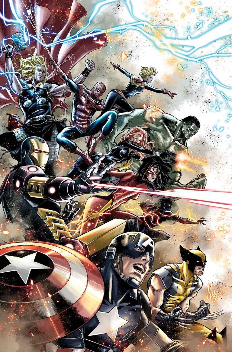 Astonishing X-Men #7 (Cover D Marco Checchetto Avengers Variant)