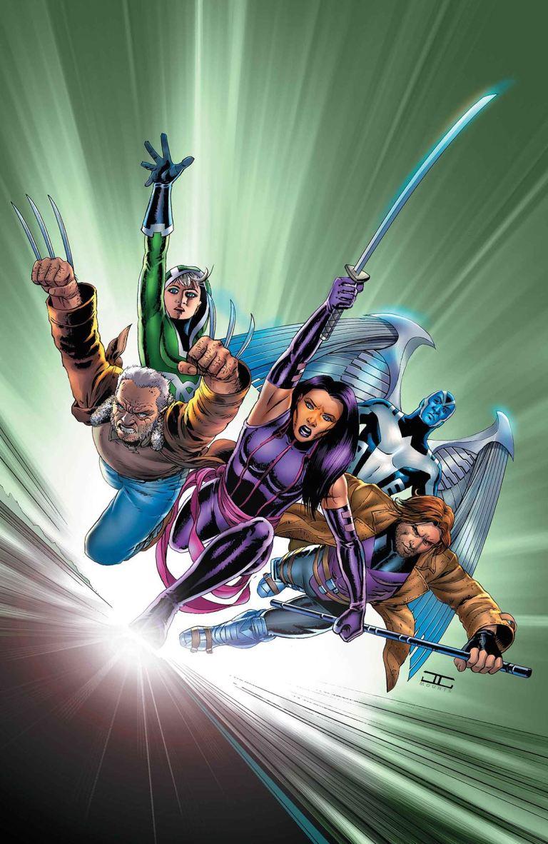 Astonishing X-Men #7 (Cover E John Cassaday Lenticular Homage Variant)