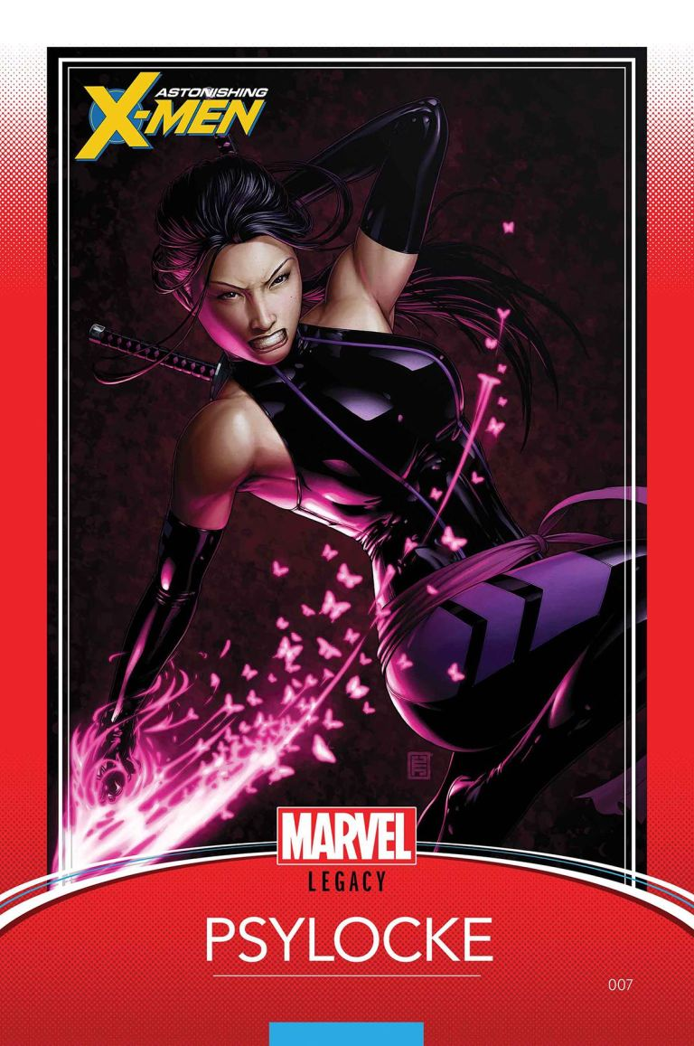 Astonishing X-Men #7 (Cover G John Tyler Christopher Trading Card Variant)