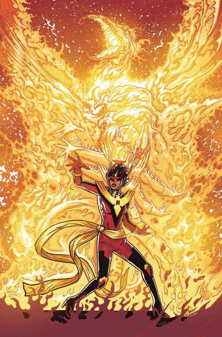 Avengers #674 (Cover B Brent Schoonover Phoenix Variant)