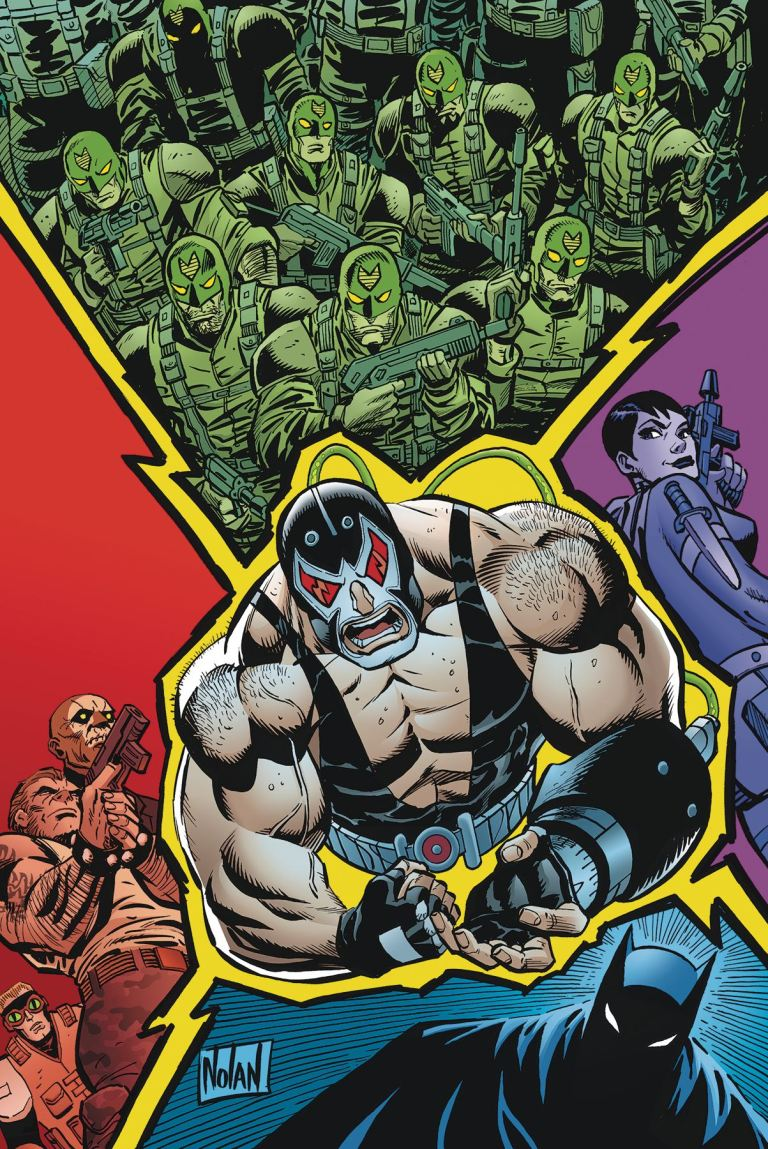 Bane Conquest #8 (Graham Nolan Cover)
