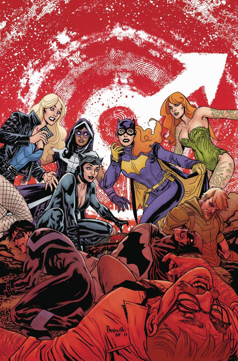 Batgirl And The Birds Of Prey #15 (Cover A Yanick Paquette)