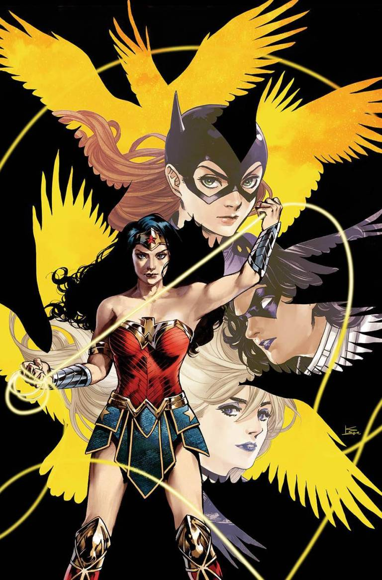 Batgirl And The Birds Of Prey #15 (Cover B Karmome Shirahama)