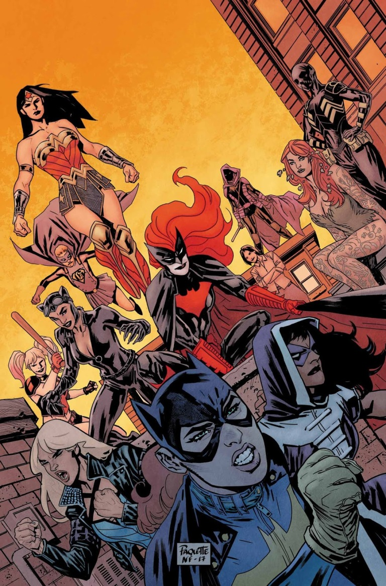 Batgirl And The Birds Of Prey #16 (Cover A Yanick Paquette)