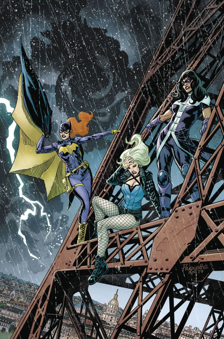 Batgirl And The Birds Of Prey #18 (Cover A Yanick Paquette)