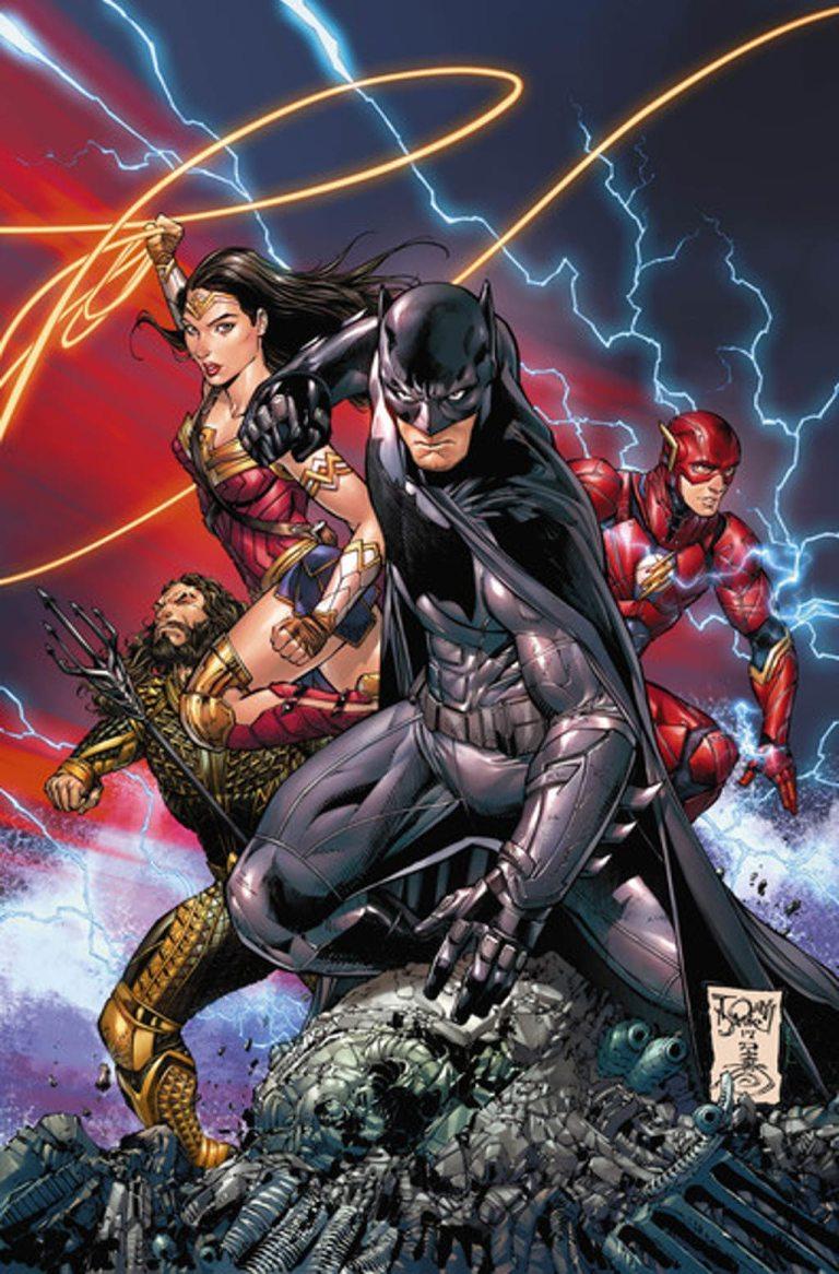 Batman #34 (Cover B Tony S. Daniel Justice League Variant)