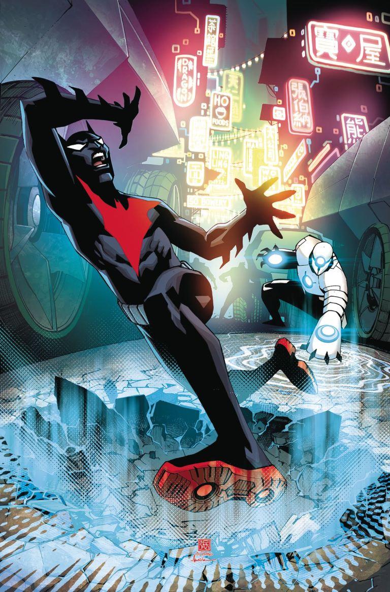 Batman Beyond #13 (Cover A Bernard Chang)