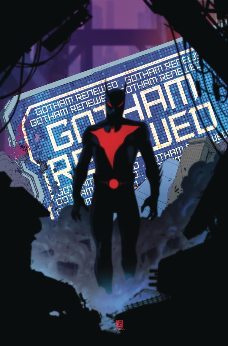 Batman Beyond #14 (Cover A Bernard Chang)