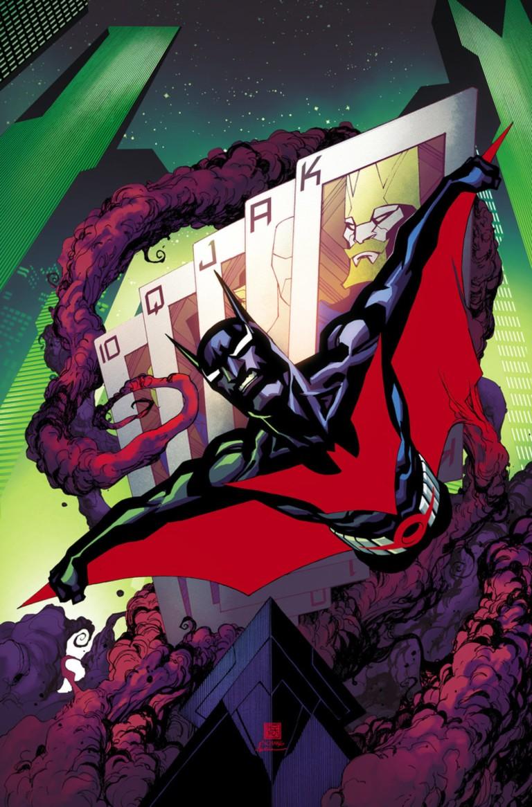 Batman Beyond #15 (Cover A Bernard Chang)