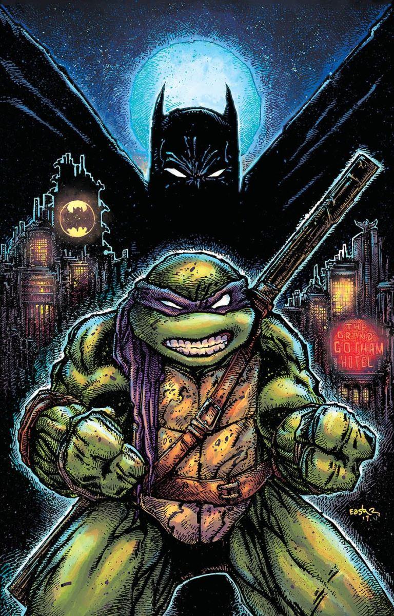 Batman Teenage Mutant Ninja Turtles II #1 (Cover B Kevin Eastman)