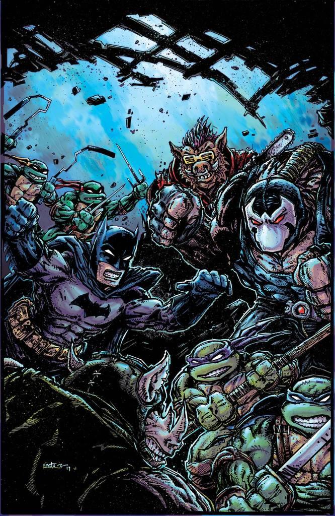 Batman Teenage Mutant Ninja Turtles II #3 (Cover B Kevin Eastman)