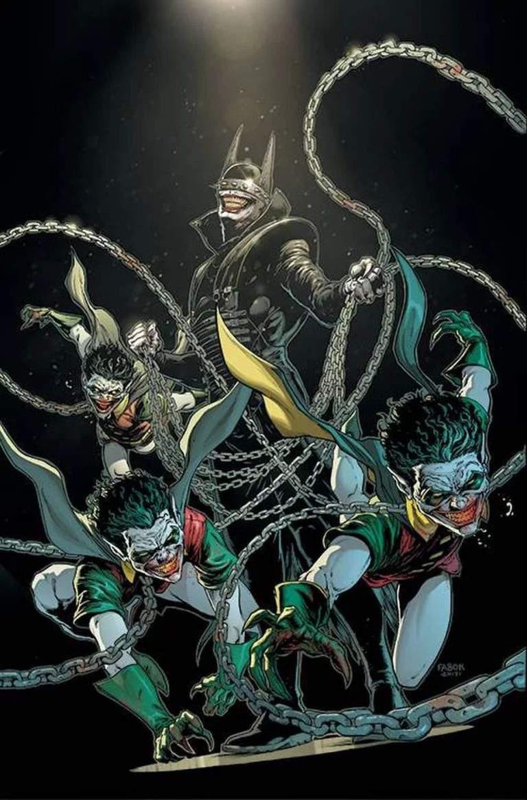 Batman Who Laughs #1 (Jason Fabok Cover)