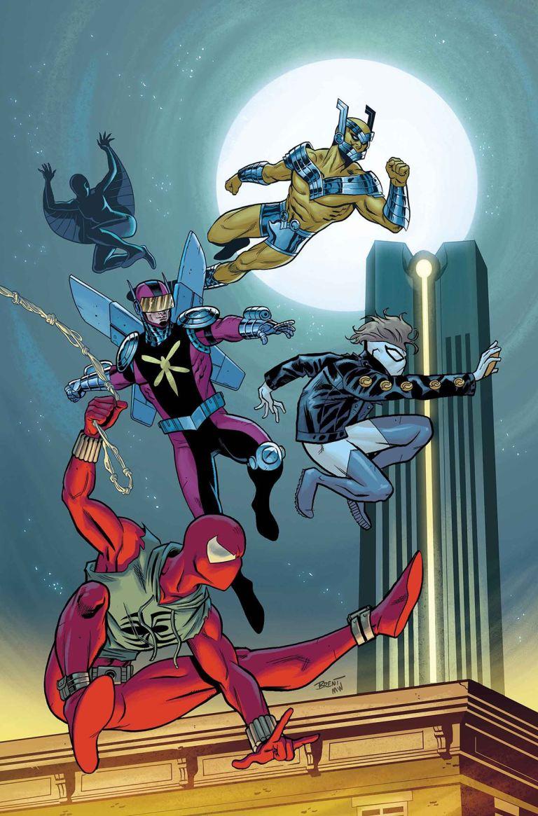 Ben Reilly The Scarlet Spider #10 (Cover B Brent Schoonover)