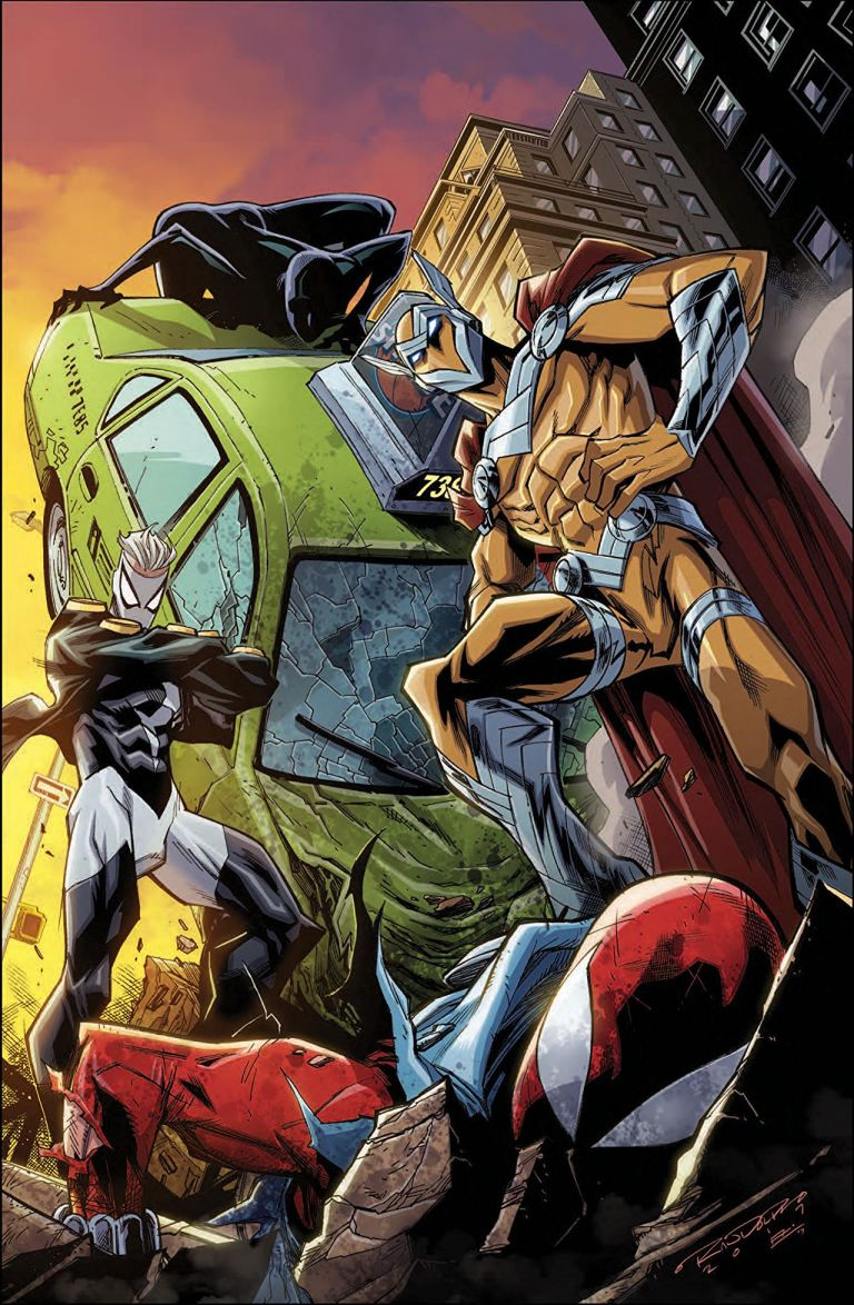 Ben Reilly The Scarlet Spider #12 (Khary Randolph Cover)