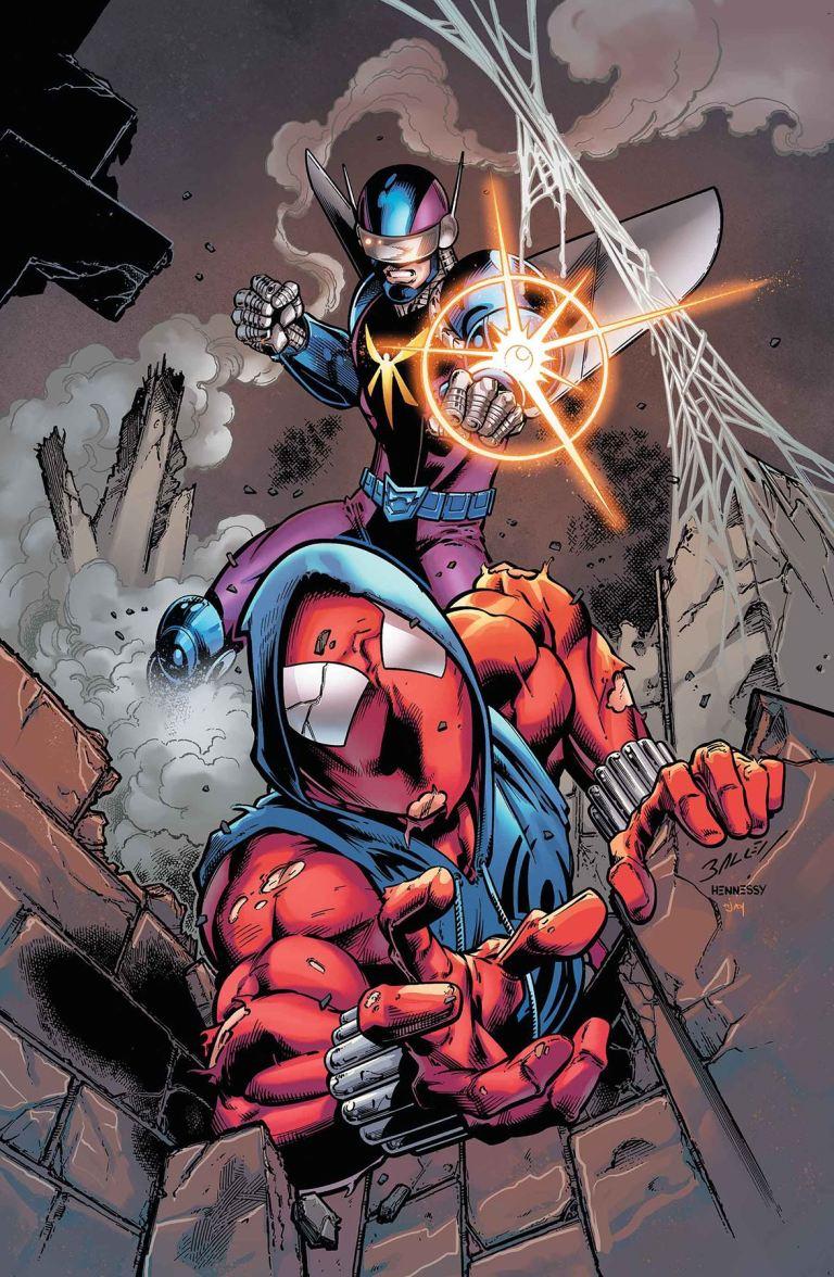 Ben Reilly The Scarlet Spider #9 (Mark Bagley Cover)