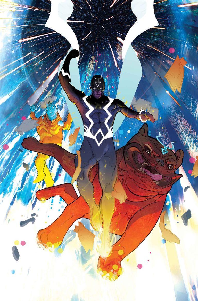 Black Bolt #7 (Christian Ward Cover)