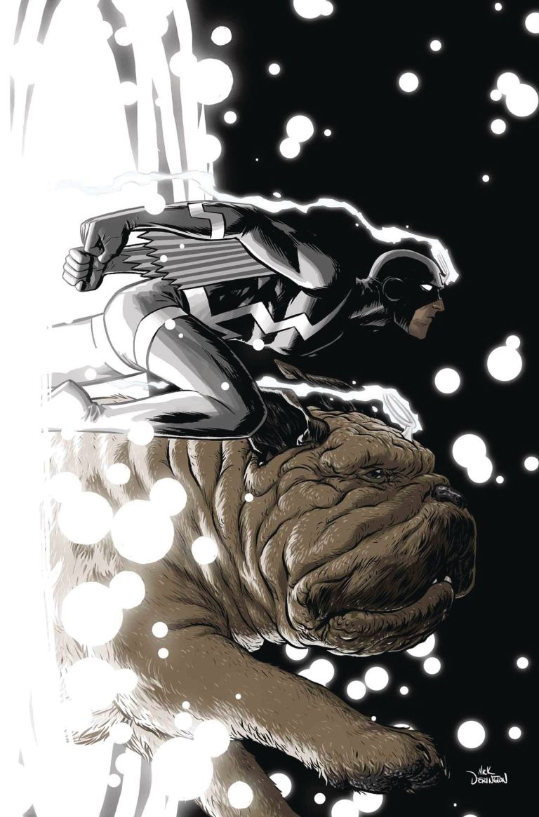 Black Bolt #8 (Cover B Nick Derington)