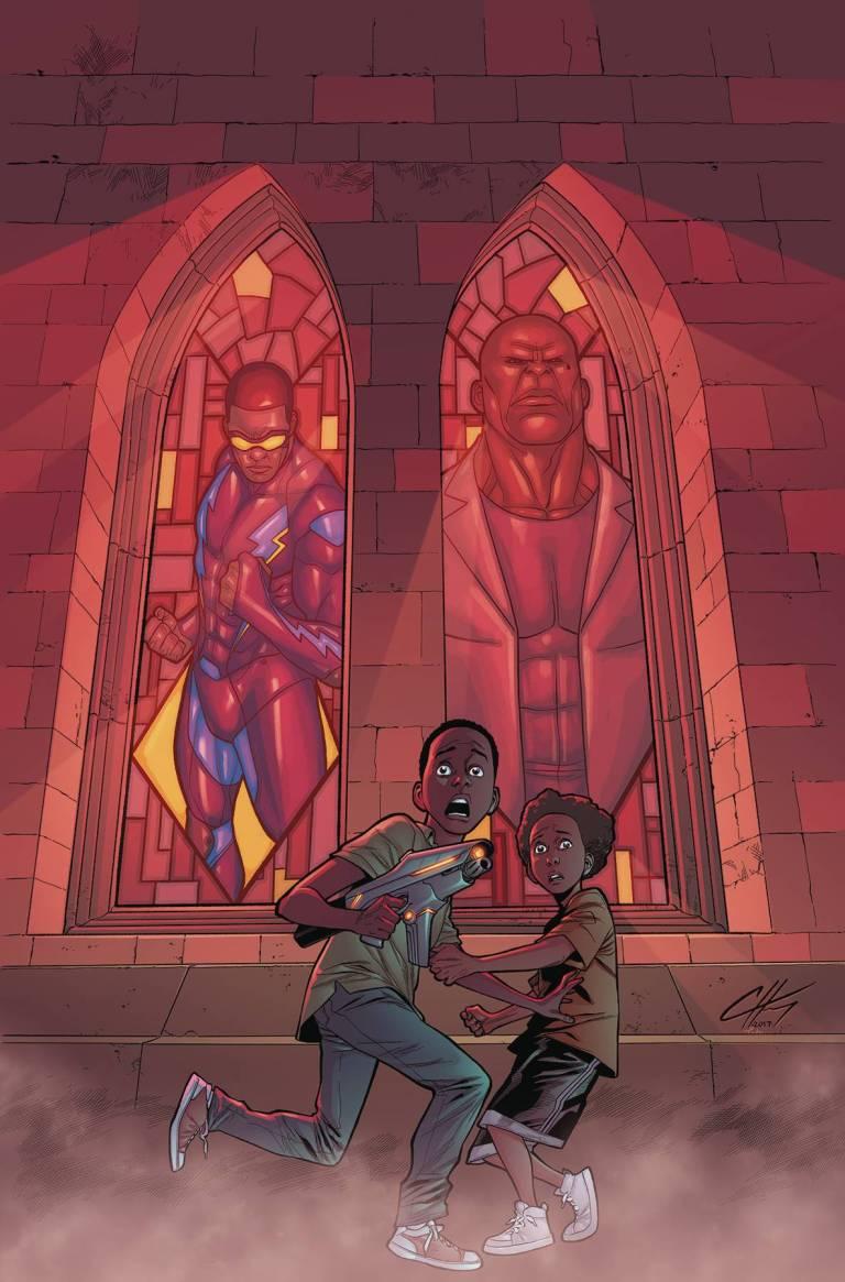 Black Lightning Cold Dead Hands #3 (Clayton Henry Cover)