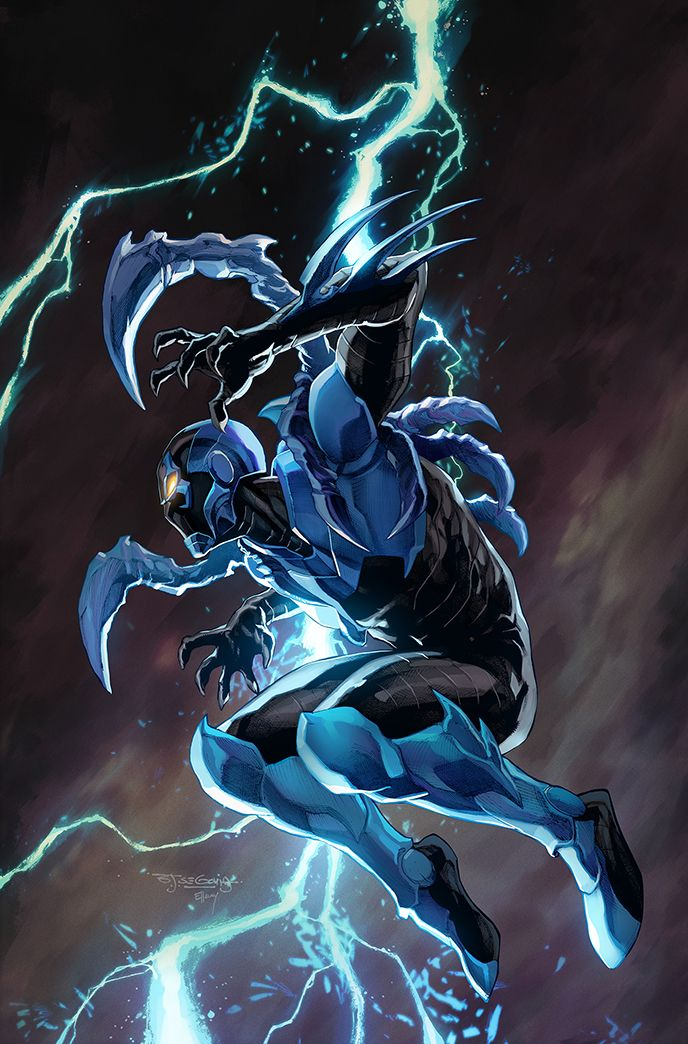 Blue Beetle #15 (Cover B Stephen Segovia)