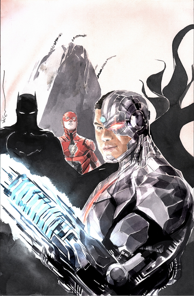 Cyborg #18 (Cover B Dustin Nguyen Justice League Variant)