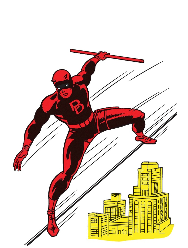Daredevil #595 (Cover E Jack Kirby 1965 T- Shirt Variant)