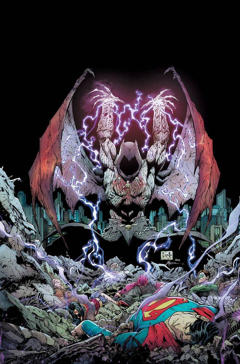 Dark Nights Metal #3 (Cover A Greg Capullo & Jonathan Glapton)