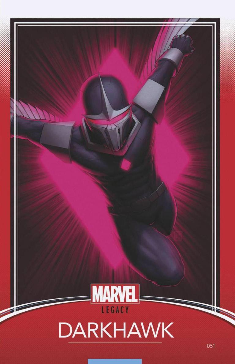 Darkhawk #51 (Cover C John Tyler Christopher Trading Card Variant)