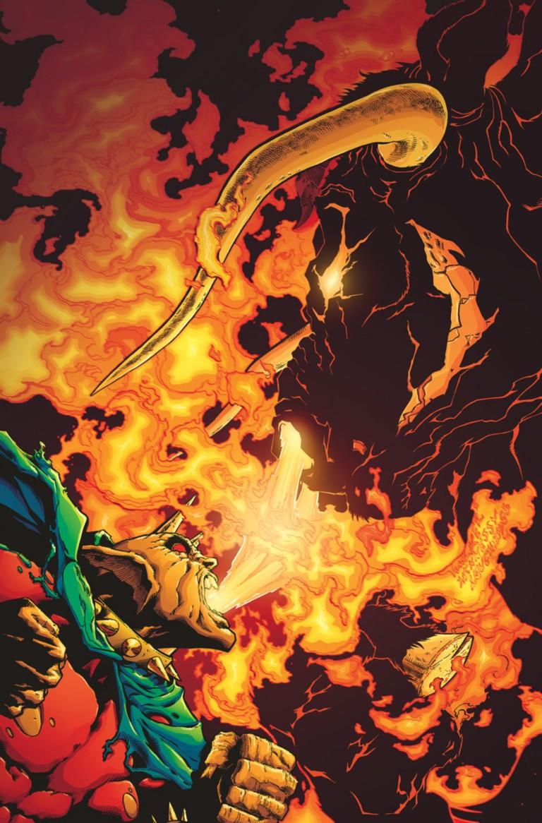 Demon Hell Is Earth #2 (Andrew Hennessy & Bradley Walker Cover)
