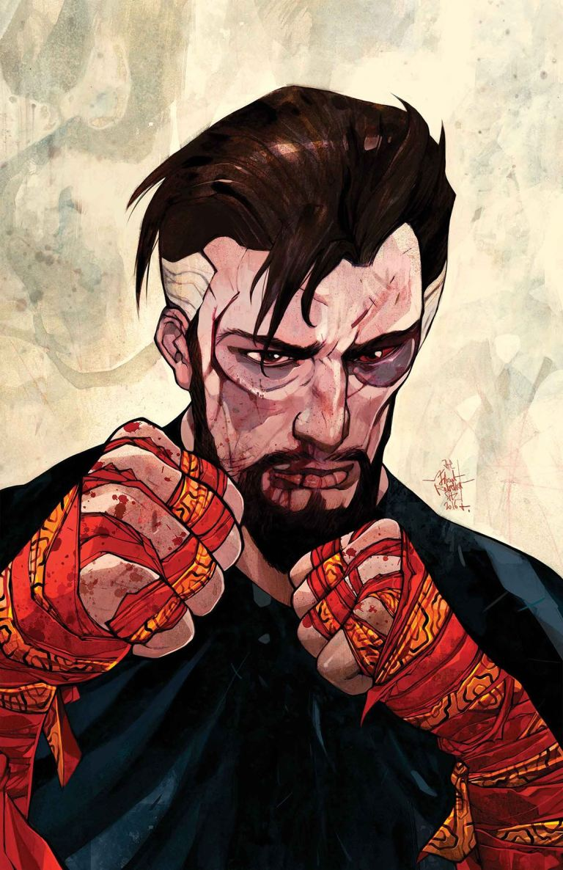 Doctor Strange #26 (Jakub Rebelka Cover)
