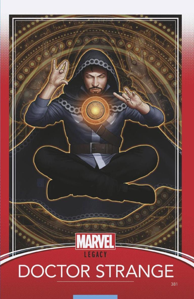 Doctor Strange #381 (Cover E John Tyler Christopher Trading Card Variant)