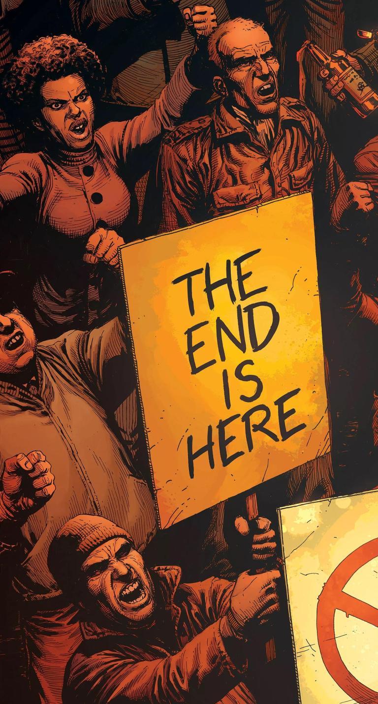 Doomsday Clock #1 (Cover A Gary Frank)
