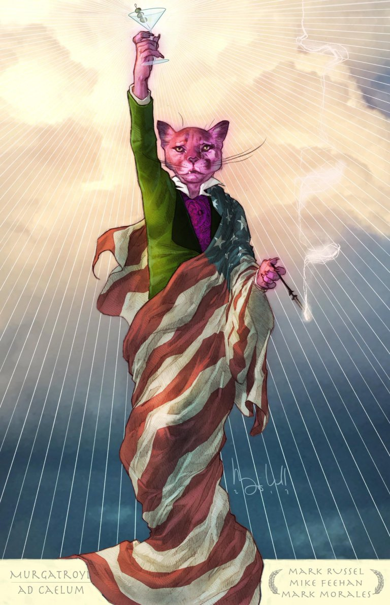 Exit Stage Left The Snagglepuss Chronicles #1 (Cover A Ben Caldwell)