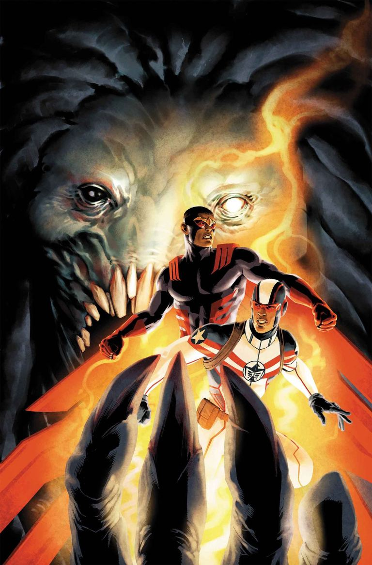 Falcon #2 (Jesus Saiz Cover)