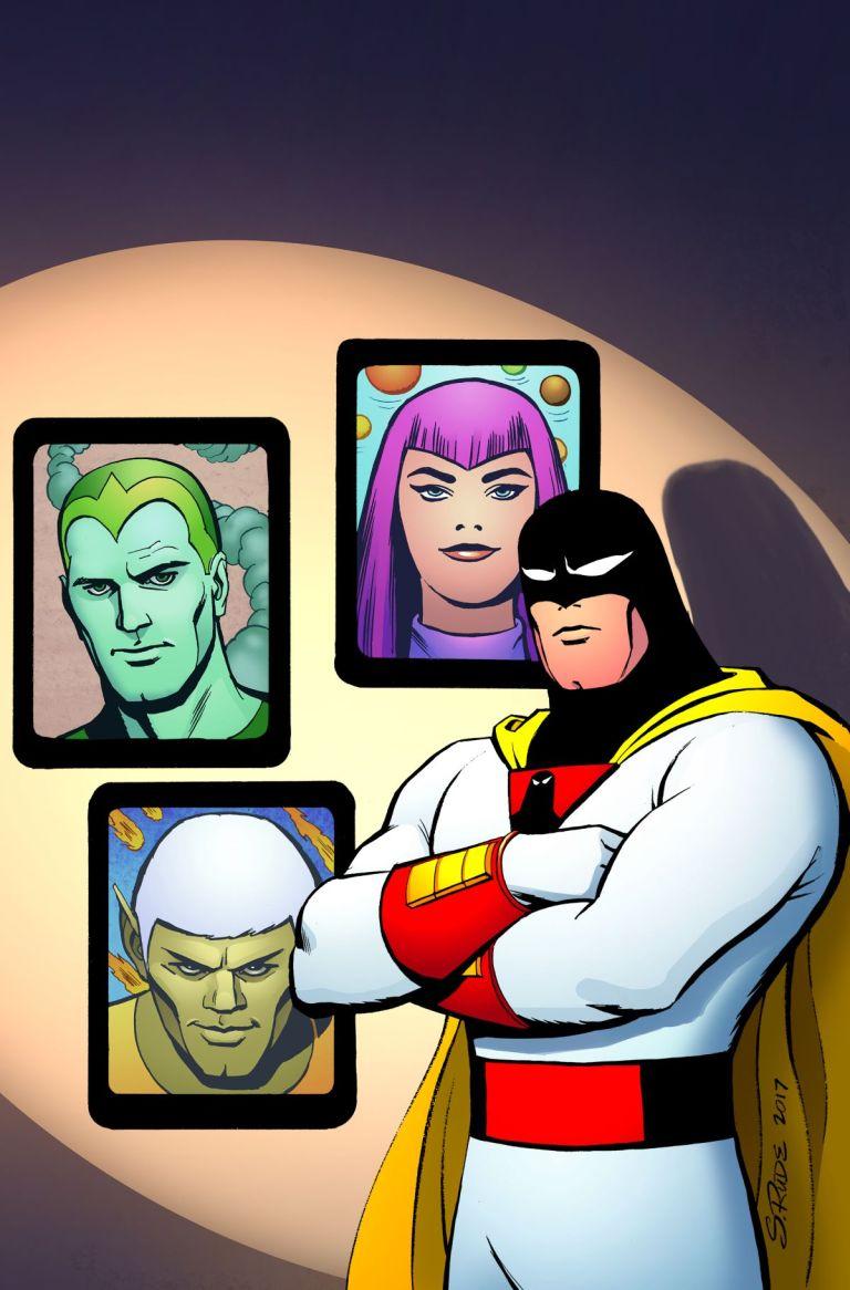 Future Quest Presents #4 (Cover A Steve Rude)