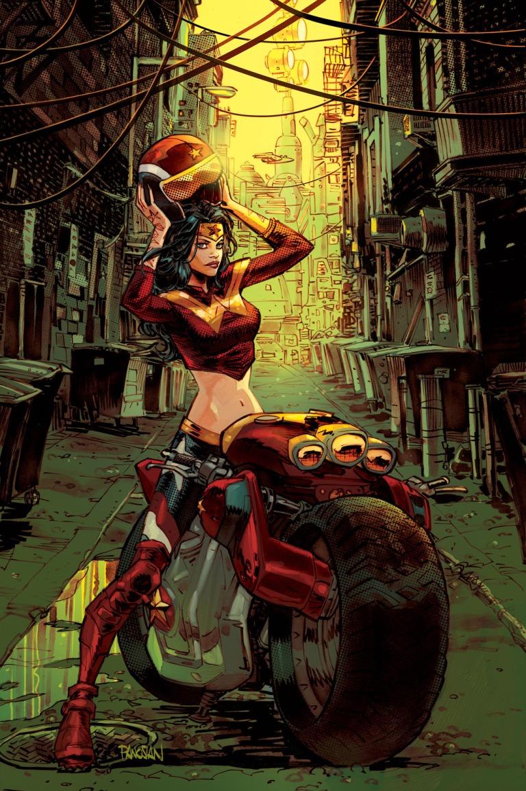 Gotham City Garage #1 (Cover B Dan Panosian)