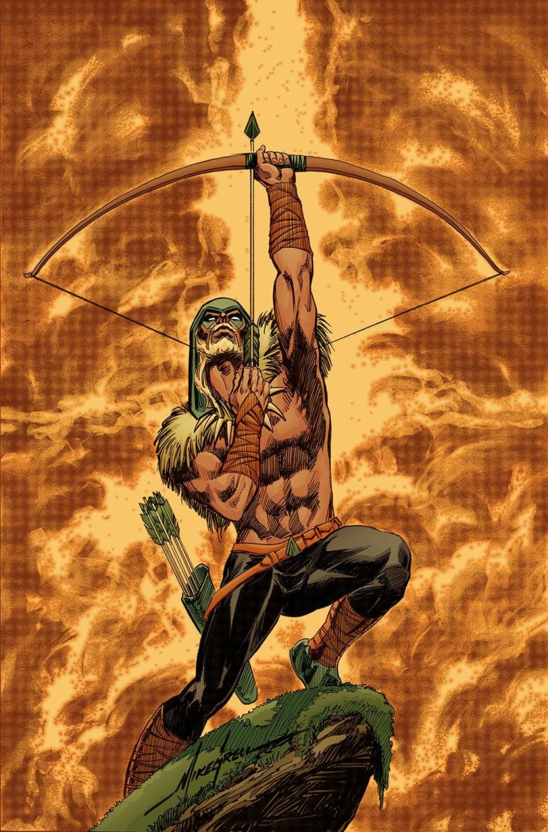 Green Arrow #32 (Cover B Mike Grell)
