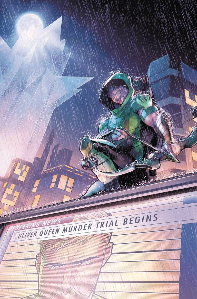 Green Arrow #33 (Cover A Jamal Campbell)