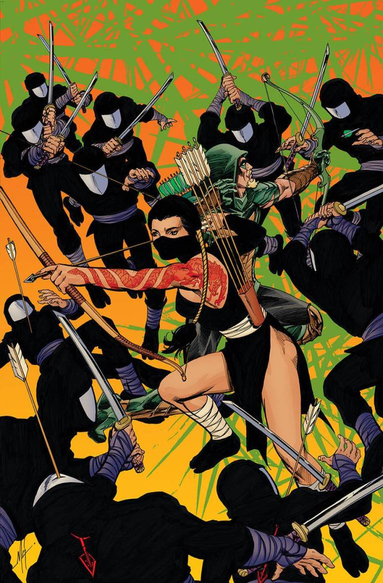 Green Arrow #34 (Cover B Mike Grell)
