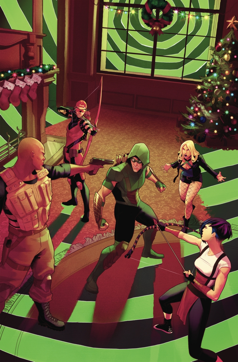 Green Arrow Annual #1 (Jamal Campbell Cover)