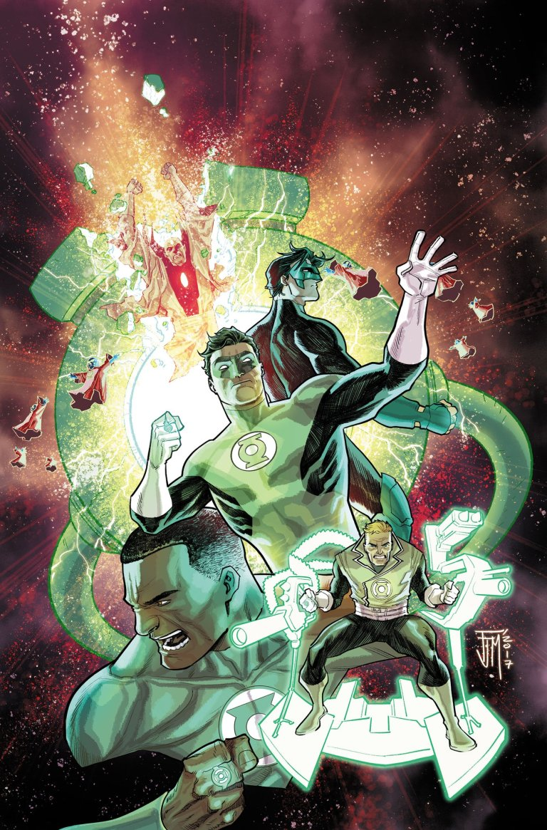 Hal Jordan And The Green Lantern Corps #34 (Cover A Ethan Van Sciver)